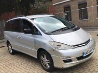 2003 TOYOTA PREVIA 2.4 VVTI T3 8 SEAT MPV PETROL AUTOMATIC SPACIOUS MOT FAMILY CAR NOT VITO TRANSIT