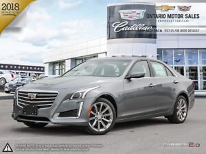 2019 Cadillac CTS 3.6L Luxury AWD / DRIVER AWARENESS PACKAGE...