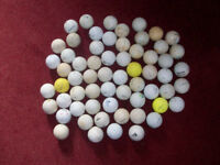 62 Golf Balls Suitable for Practice