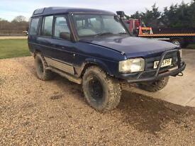Land Rover discovery 300 Tdi off-road prepared mot exempt