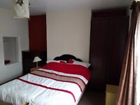 Large Double Room near town above train station
