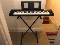 Keyboard - Lightweight Yamaha NP12 Digital Piano with Stand