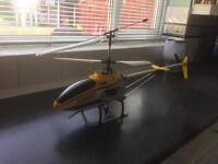 Helicopter with camera / video