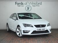 SEAT LEON 2.0 TDI FR 3DR [TECHNOLOGY PACK] (white) 2016