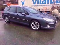 Peugeot 2006- 407sw estate - one year mot - service history - cambelt done