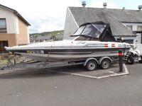 Fletcher 150hp 2 stroke speedboat
