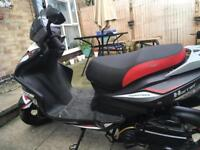 125cc Sinnis Harrier Reposted as a runner