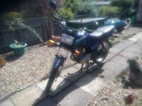 Honda cg125 motorbike