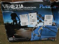 Venezia rear mounted bicycle carrier for 3 bikes (brand new in box)