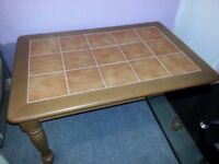 Tile Top Coffee Table. Only £35