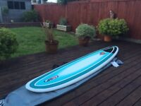 NSP Mini Mal Funboard Surfboard