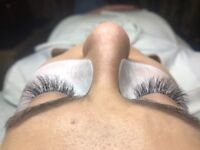 Eyelash extension: classic, russian volume, profesional work beauty salon Rayners lane SUNTASTIC
