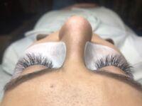 Eyelash extension: classic, russian volume, profesional work beauty salon Rayners lane SUNTASTIC