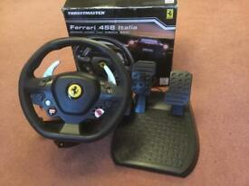 PC or Xbox steering wheel
