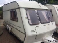 2 Berth - Award Daystar - Touring Caravan - Comes with a full awning