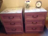 Bedside Cabinets ( shabby chic style)