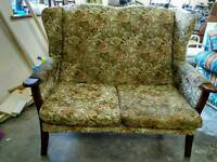 2 seater antique sofa