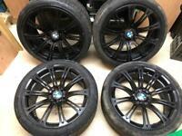 "Genuine 19"" M3 e92 e90 3 series alloy wheels 5x120"