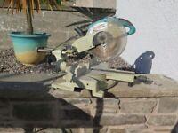 "Boshmann 255mm (10"") Sliding Compound Double Bevel Mitre Saw"