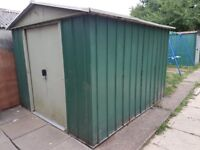 metal shed for sale good condition