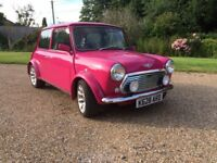 Classic Mini Cooper. Brilliantly restored. Stunning.