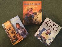 3 x Jamie Oliver Cook Books – Italy, The Naked Chef & Return of the Naked Chef