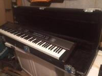 Roland RD-170 Keyboard Piano with heavy duty gig case