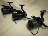 3 Fox fx11 reels with spare spools