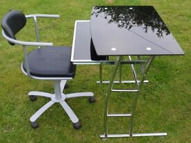 for sale computer table and chair