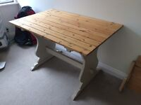 Lovely upcycled dining table