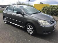 TOYOTA COROLLA 1.4 VVTI, 2004, MANUAL, FACELIFT MODEL, EXCELLENT ENGINE