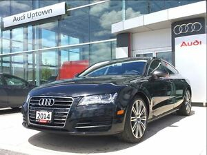 2014 Audi A7 3.0 Progressiv W/NAVIGATION AND 20 ALLOYS