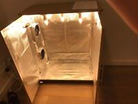 Indoor Grow Cupboard with carbon filter
