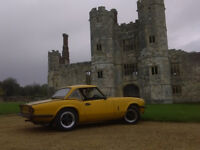 Triumph Spitfire 1500 in Yellow