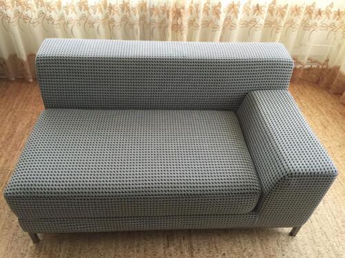 ikea 2er sofa rechts mit kramfors bezug in hannover kirchrode. Black Bedroom Furniture Sets. Home Design Ideas