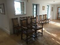 Victorian Oak Dining Chairs – 10