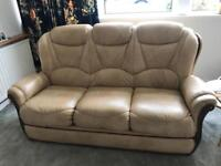 3 seat sofa and 2 arm chairs