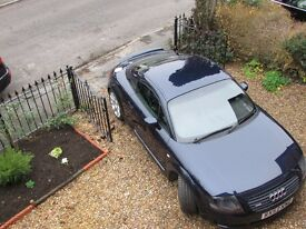 **Audi TT 1.8 Turbo Quattro 3dr**- GET READY FOR SUMMER - Cambelt changed June 16. Price reduced