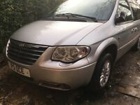2006 Chrysler Grand Voyager 2.8 CRD Automatic Limited 5dr gearbox problem Low mileage private reg
