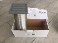 Cooker ducting kit