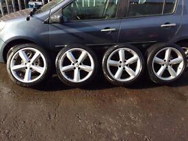 "18"" Genuine Audi 5 spoke wheels"