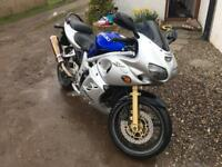 SV650S curvy with £££ of extras and well cared for - ready for spring