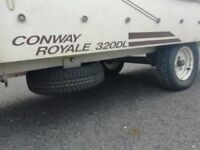 CONWAY ROYALE 320DL - trailer tent. Garaged and been in our family for 20+ years
