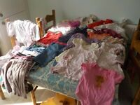 Big bundle of girls 6 - 9 months baby clothes