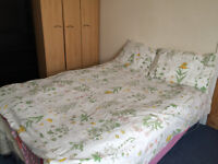 Double room with own toilet in a family home near Heathrow