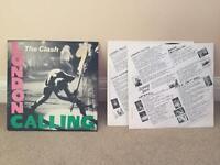The Clash Original Vinyls