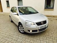 VOLKSWAGEN POLO 1.2 MATCH 2009 LOW MILEAGE 1 OWNER MINT CONDITION