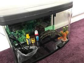 Love fish panoramic 64l fish tank & accessories
