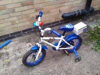 Apollo child's police bike