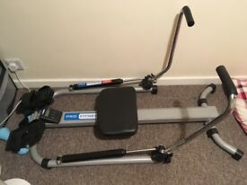 Pro Fitness Rowing Machine, Good Condition